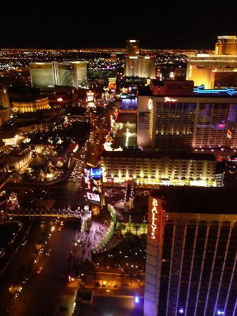 Eiffel Tower Restaurant At Paris Las Vegas Strip South View