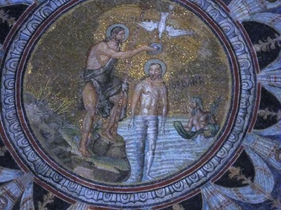Battistero Neoniano (Battistero degli Ortodossi): la cupola