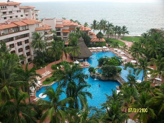 buganvilias vacation club la alberca y jardines delde la terraza de la habitacin