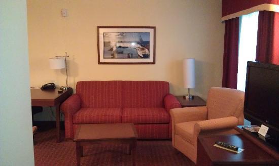 Residence Inn Newport Middletown: Living Room Area