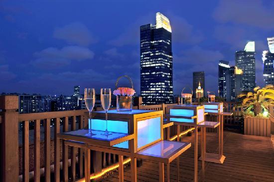 Swissotel Grand Shanghai: 总统套房-阳台