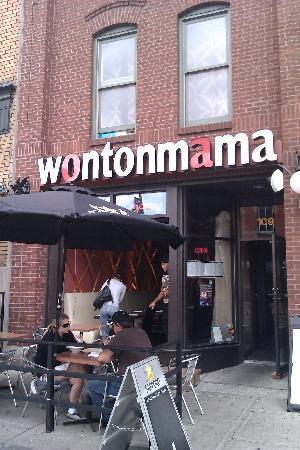 Wontonmama: Outside