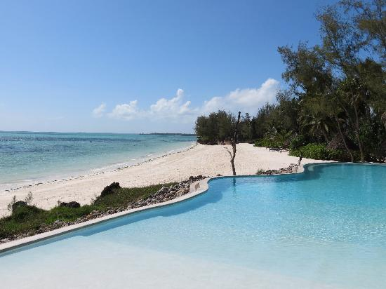 Pongwe Beach Hotel: Pool & Ocean