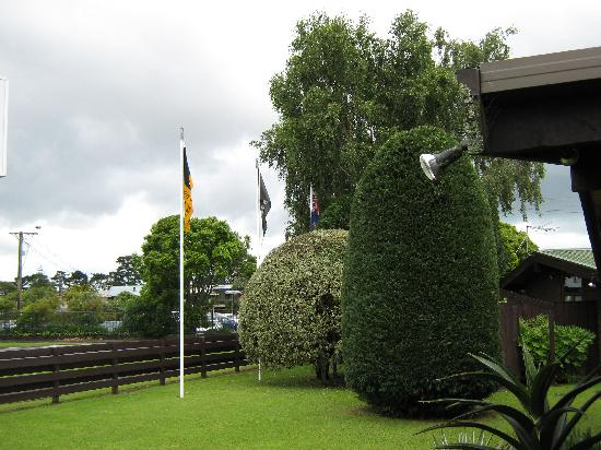 Grange Motor Lodge: Front Garden