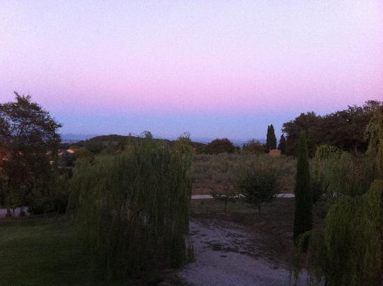 Podere Monti: sunset view