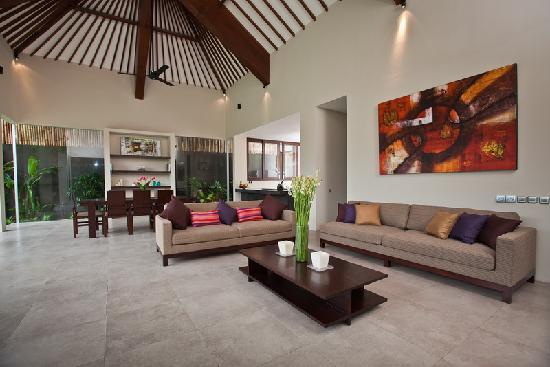 Villa Alice: living room