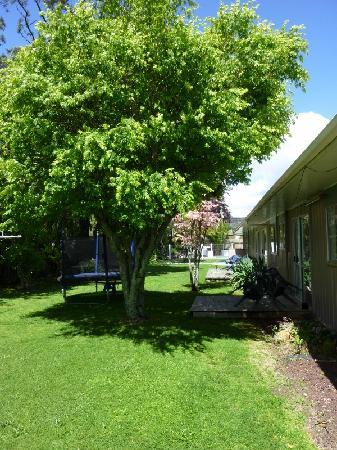Red Rock Thermal Motel: Gardens