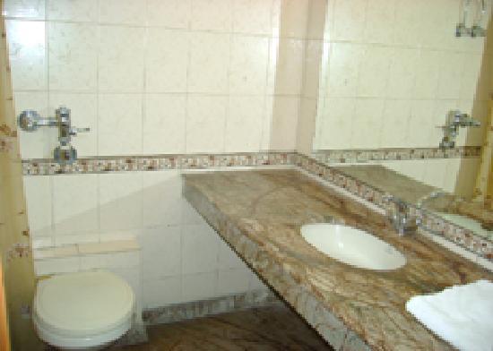 Hotel Aman Palace Delhi: Bathroom