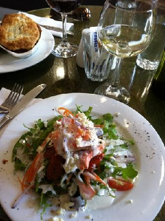 Pipers Brook Vineyard: salmon stack