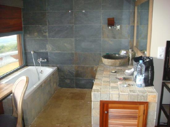 Salle De Bain Ouverte Sur Salon: Salle de bains ouverte sur la ...