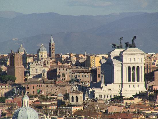Stefano's RomeCabs: Rome from Janiculum Hill