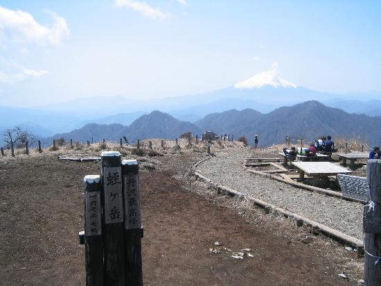 Mt. Hirugatake : 展望の気持ち良い蛭が岳山頂