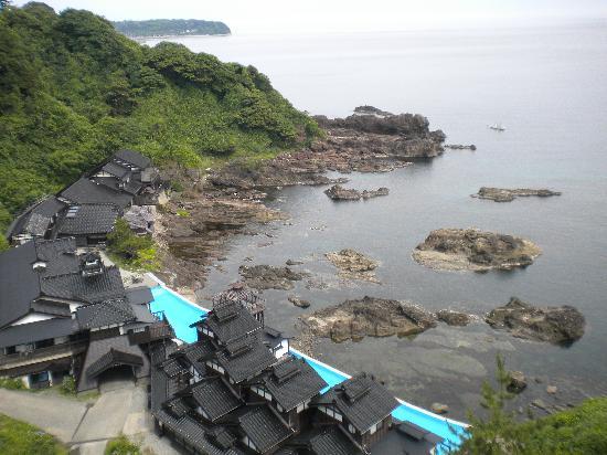 珠洲市, 石川県, 展望台から