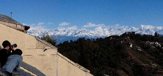 Club Himalaya: Room with a view