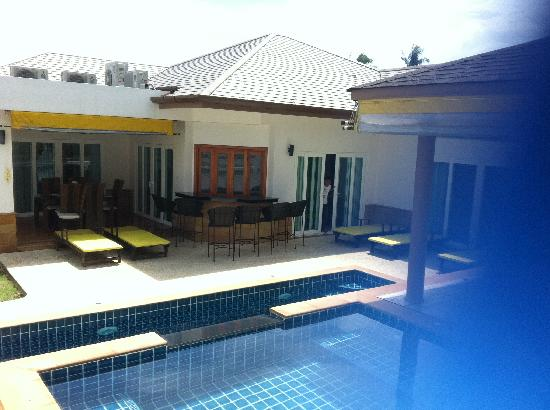 Tamarind Villas Phuket: Excellent layout