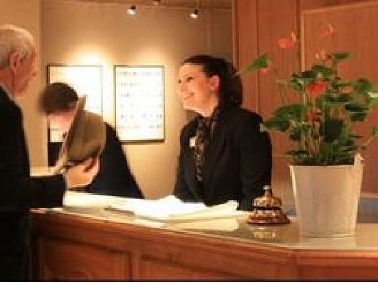 Hotel Henry II Beaune Centre: RECEPTION