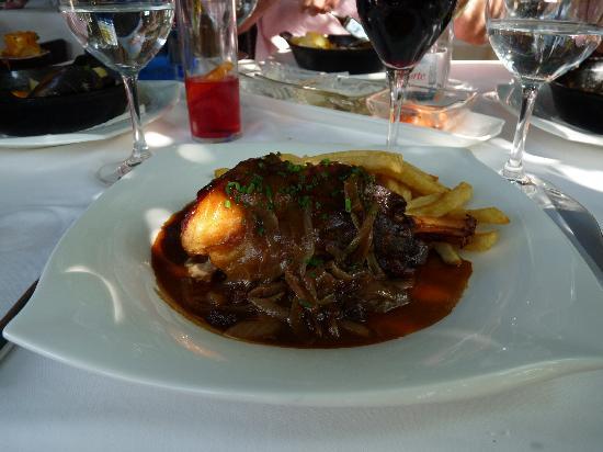 Restaurante Masena: Souris d'Agneau - Lammhaxe