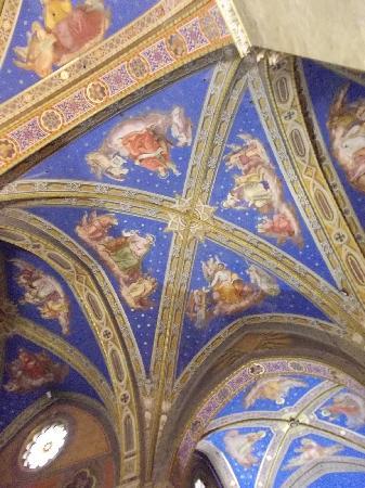 Santa Maria Sopra Minerva: decorazioni volta