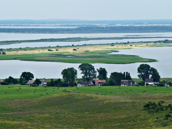 Hiddensee Island, Germany: Blick vom Leuchtturm