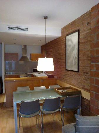 Hotel Consell de Cent: Living room 2