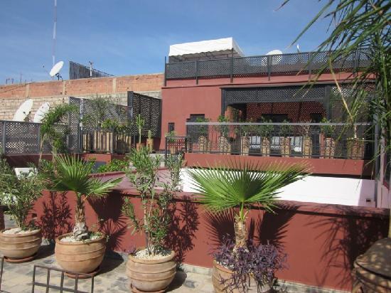 Riad Alegria: terrasse