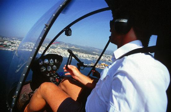 Balearic Helicopters : Come train with us!