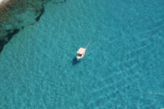 Balearic Helicopters : Turquoise blue sea