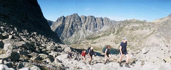 Tatra National Park, بولندا: View on Rysy trail