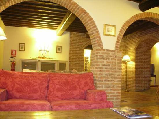 Castello di Leonina Relais: Zona relax