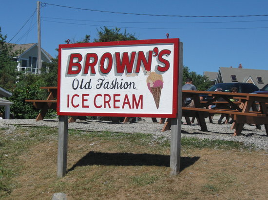 Brown's Ice Cream : Brown's Old Fashioned Ice Cream