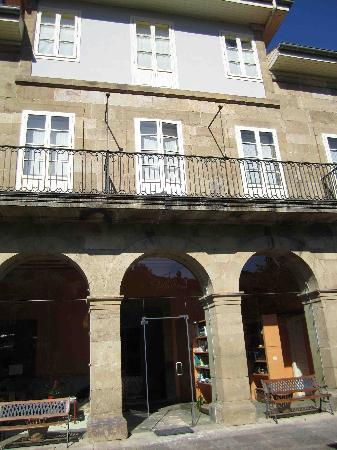Posada Villa Esperanza: View from front patio area
