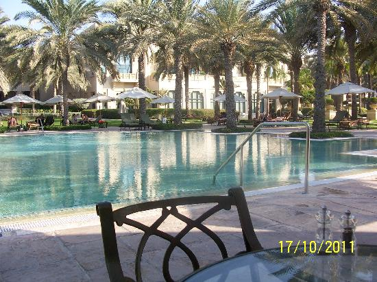 The Palace at One&Only Royal Mirage Dubai: View of the pool - temperature controlled