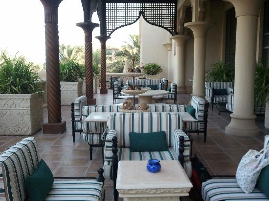 The Palace at One&Only Royal Mirage Dubai : The Lobby Terrace