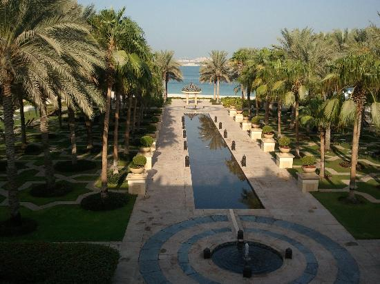 The Palace at One&Only Royal Mirage Dubai : View from the Lobby Terrace