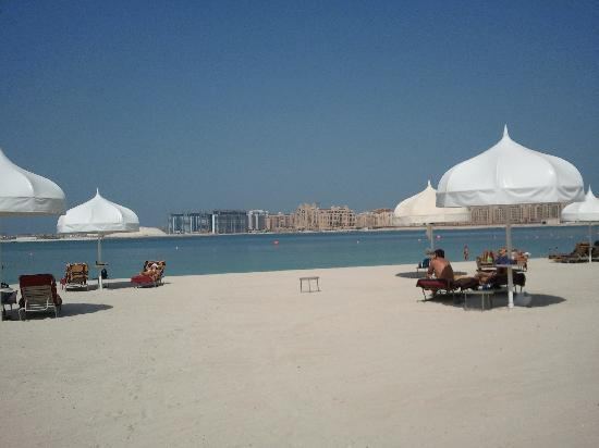 The Palace at One&Only Royal Mirage Dubai : View of the spacious beach