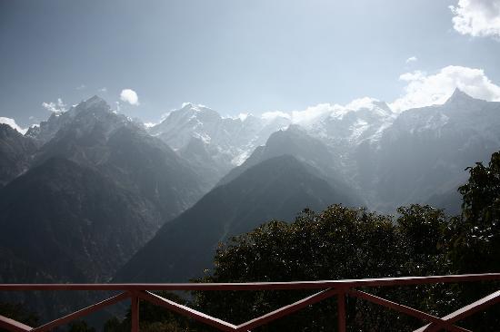 The Grand Shamba-La: View from the Balcony
