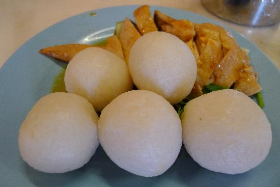 Huang Chang Chicken Rice Ball: Chicken Rice Ball