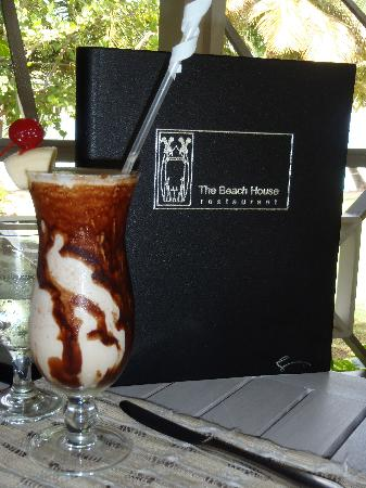 The Beach House Restaurant: Yummy and Cool Refreshments Abound