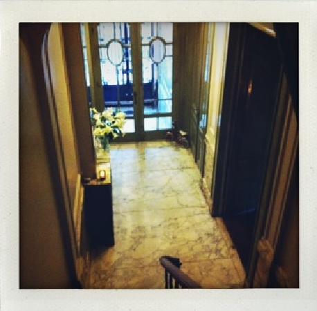 Boulevard Leopold Bed & Breakfast: entrée