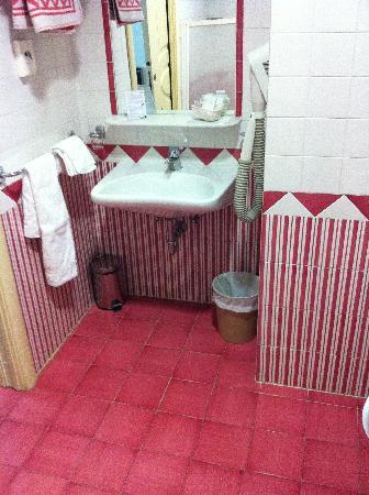 Hotel Santa Lucia: il bagno... carino ma la doccia?