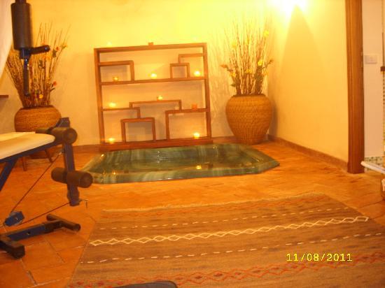 Relais Tre Acri : camera con idromassaggio