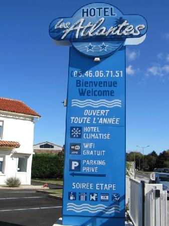 Hotel Les Atlantes: Totem Les Atlantes