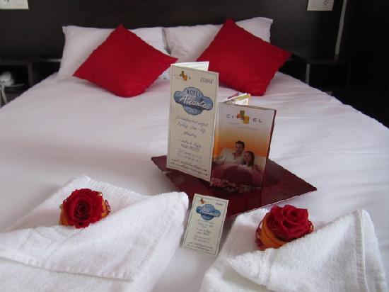 Hotel Les Atlantes: Chambre double
