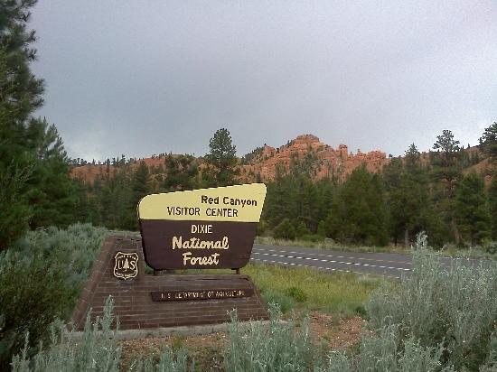 Dixie National Forest: Red Canyon Eingang