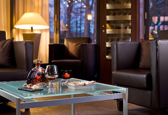 Relais & Châteaux Hotel Burg Schwarzenstein: Davidoff Lounge