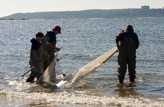 New Jersey Sea Grant Consortium: Going into the bay to fish