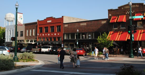 McKinney, Teksas: Shopping on the Square