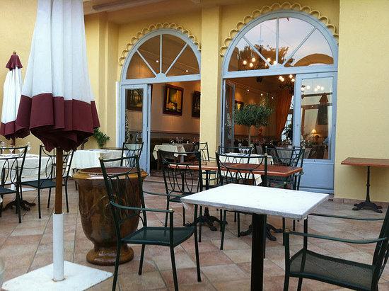 Hotel La Mere Germaine : Restaurant ude