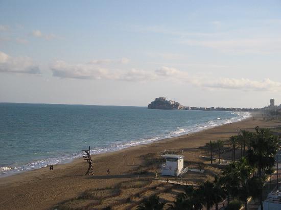 Gran Hotel Peniscola : vue de la chambre coté mer