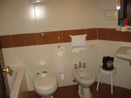 Hotel Abano Verdi Terme: bagno